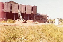 Construction of the Ukrainian Cultural Center. 1979.
