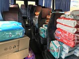 Znamyanka Orphanage Receives a Donation of Diapers