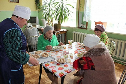 Soup kitchens in Ukraine