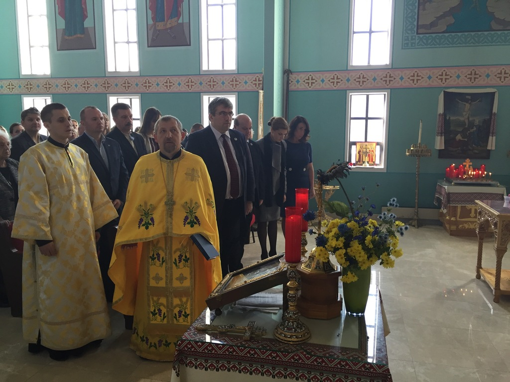 Ukraine First Lady Visits The 87