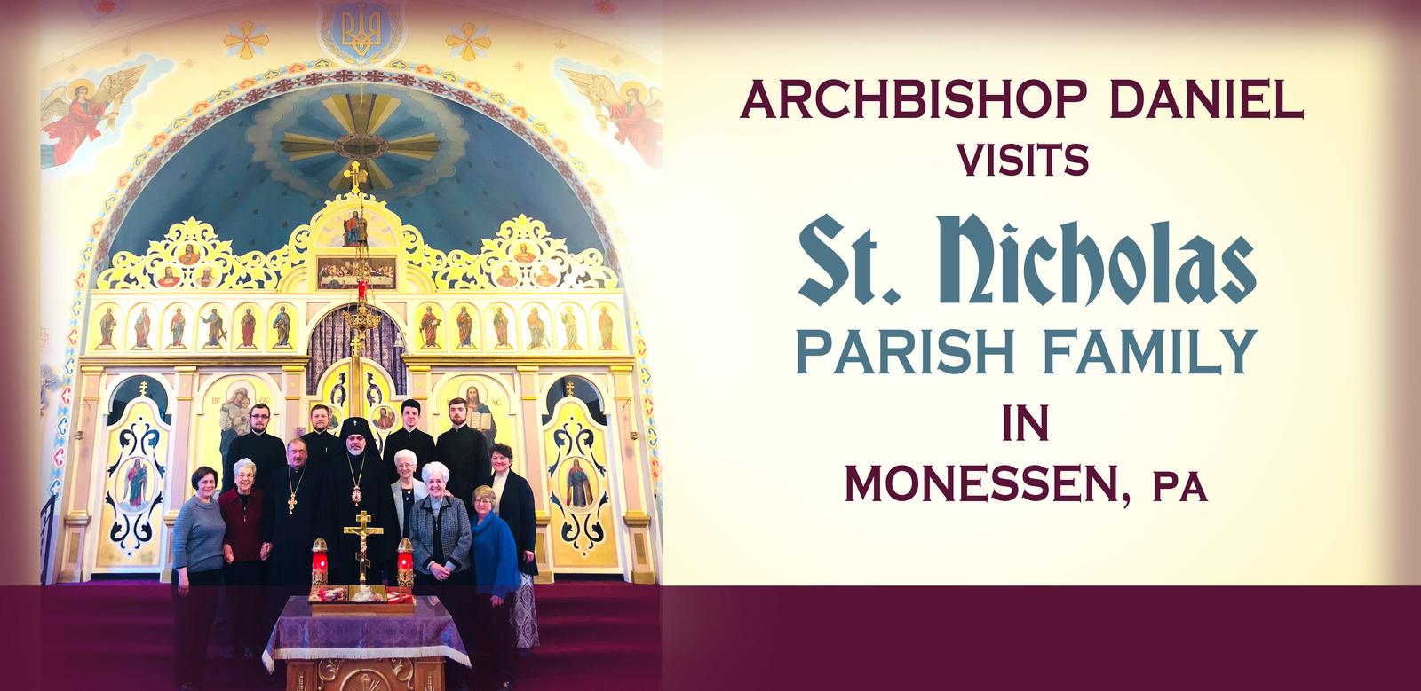 Ukrainian Orthodox Church Of The Usa Lazarus Saturday Archpastoral