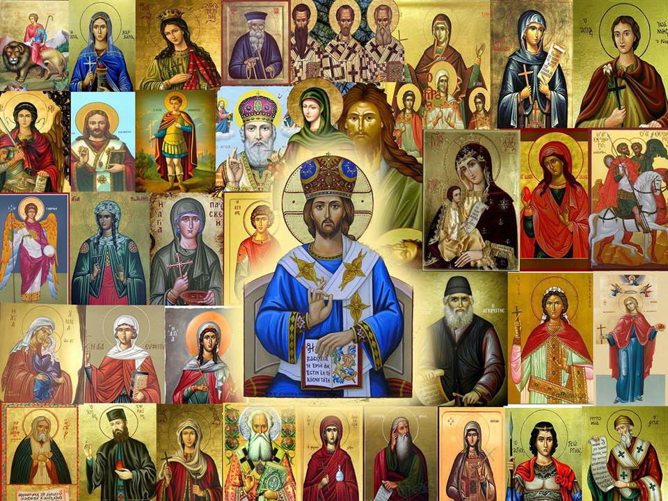 Various Saints: Holy Fathers, Mothers